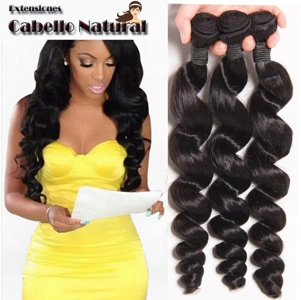 Extensiones cabello natural onduladas